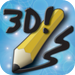 Draw 3D! free -- Paint, draw, sketch, or doodle in 3D. No glasses requ