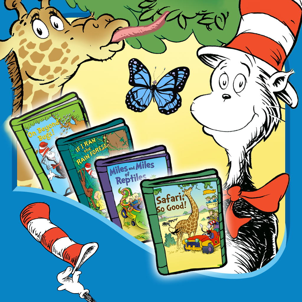 mzl.ntsjxqtr In The Wild! Cat in the Hat Learning Library Collection By Oceanhouse Media  Review + Giveaway